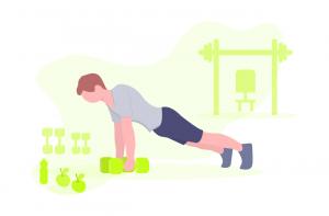 Minimalist Workouts Help To Build Discipline - PushUpAndMore.Com